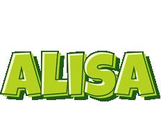 Alisa summer logo