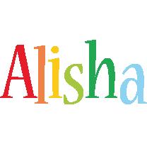 Alisha birthday logo