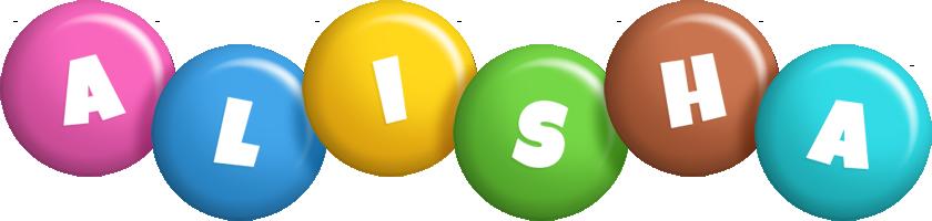 Alisha candy logo