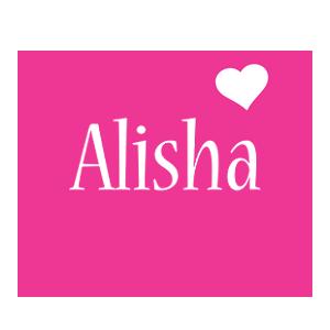 Alisha love-heart logo