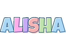 Alisha pastel logo