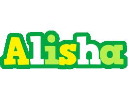 Alisha soccer logo