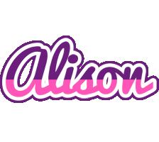 Alison cheerful logo