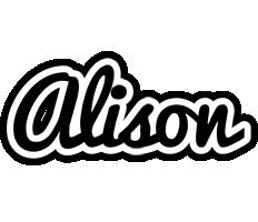 Alison chess logo