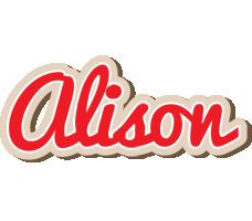 Alison chocolate logo