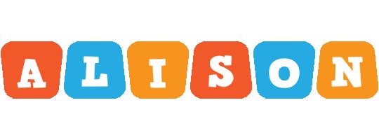 Alison comics logo