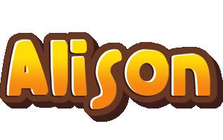 Alison cookies logo