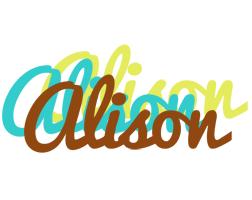Alison cupcake logo