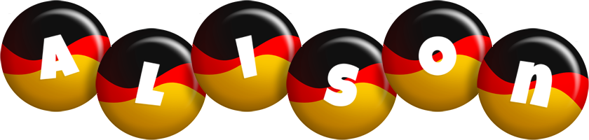 Alison german logo