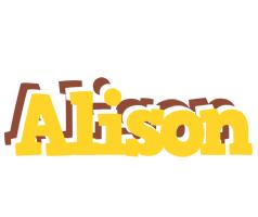 Alison hotcup logo