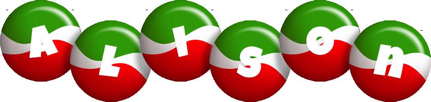 Alison italy logo