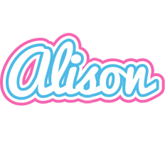 Alison outdoors logo