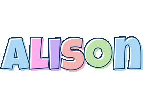 Alison pastel logo