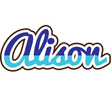 Alison raining logo