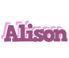 Alison relaxing logo