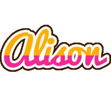 Alison smoothie logo