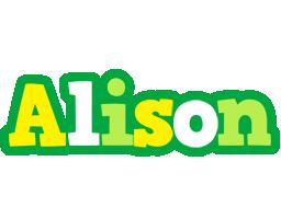 Alison soccer logo