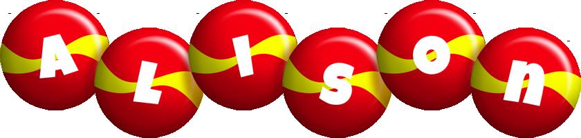 Alison spain logo