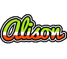 Alison superfun logo