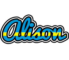 Alison sweden logo