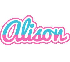 Alison woman logo
