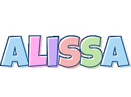 Alissa pastel logo