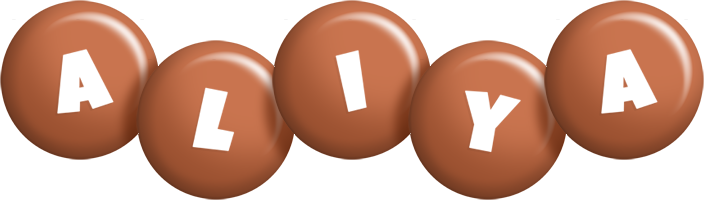 Aliya candy-brown logo