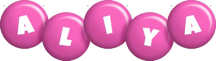 Aliya candy-pink logo