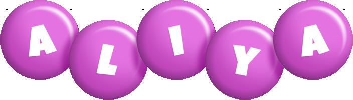 Aliya candy-purple logo