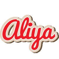 Aliya chocolate logo