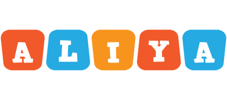Aliya comics logo