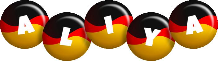 Aliya german logo