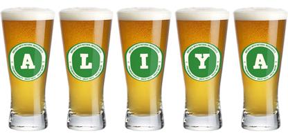 Aliya lager logo
