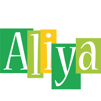 Aliya lemonade logo