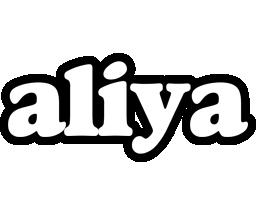 Aliya panda logo