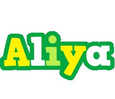 Aliya soccer logo