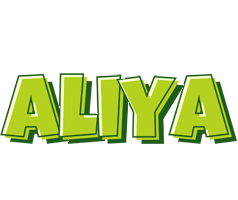 Aliya summer logo