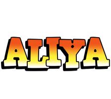 Aliya sunset logo