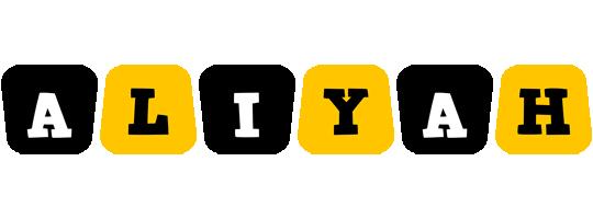 Aliyah boots logo