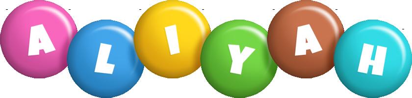 Aliyah candy logo