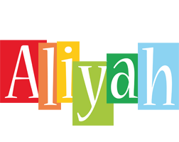 Aliyah colors logo