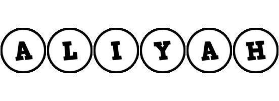 Aliyah handy logo