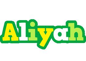 Aliyah soccer logo