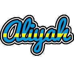 Aliyah sweden logo