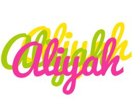 Aliyah sweets logo