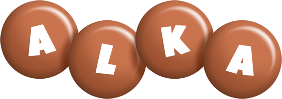 Alka candy-brown logo