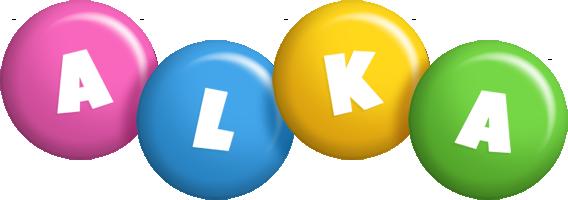 Alka candy logo
