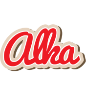 Alka chocolate logo