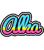 Alka circus logo