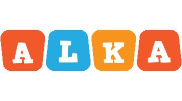 Alka comics logo